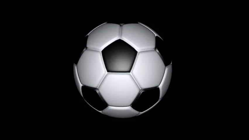 3d Moving Animation Wallpaper Download Spinning Animated Football Stock Footage Video 1451056