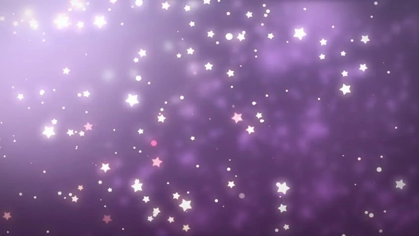 Falling Stars Live Wallpaper Stars Glitter Background Seamless Loop Winter Theme