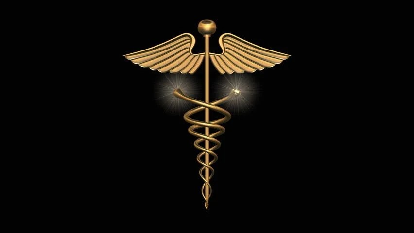 3d Animated Snake Live Wallpaper 3d Logo Of Animated Caduceus In Gold With Snakes Coiling