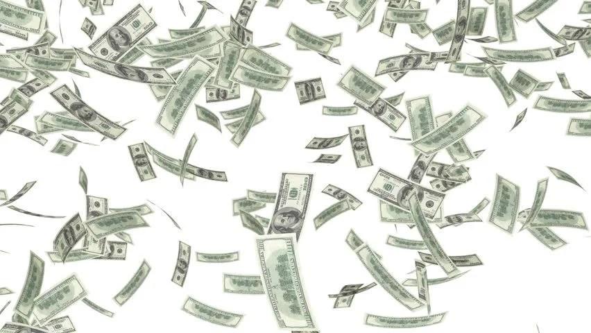 Falling Money 3d Live Wallpaper One Hundred Dollar Bills ...