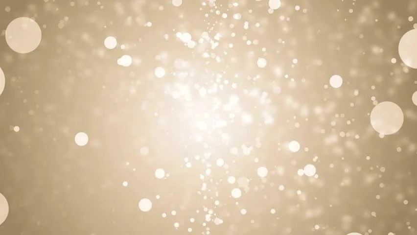 Free Animated Desktop Wallpaper Like Snow Falling On Background Gold Whit Glitter Background Seamless Loop Winter Theme
