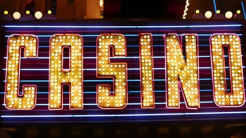 Las Vegas Strip Hd Wallpaper Vegas Casino Sign In Lights Casino Sign In Lights And