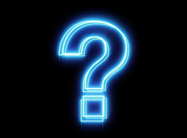 Question Mark Hd Wallpaper Glowing Blue Question Mark Stock Footage Video 3894710