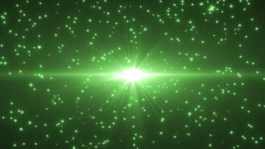 Falling Images Live Wallpaper Green Star Stream Background Stock Footage Video 4686218