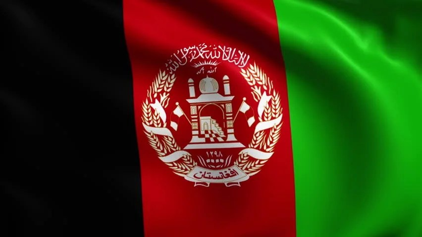 3d Wallpaper Before And After Flag Of Afghanistan Background Seamless Loop Animation