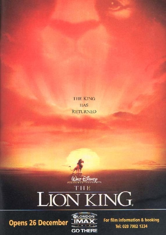 list of characters in the lion king movie