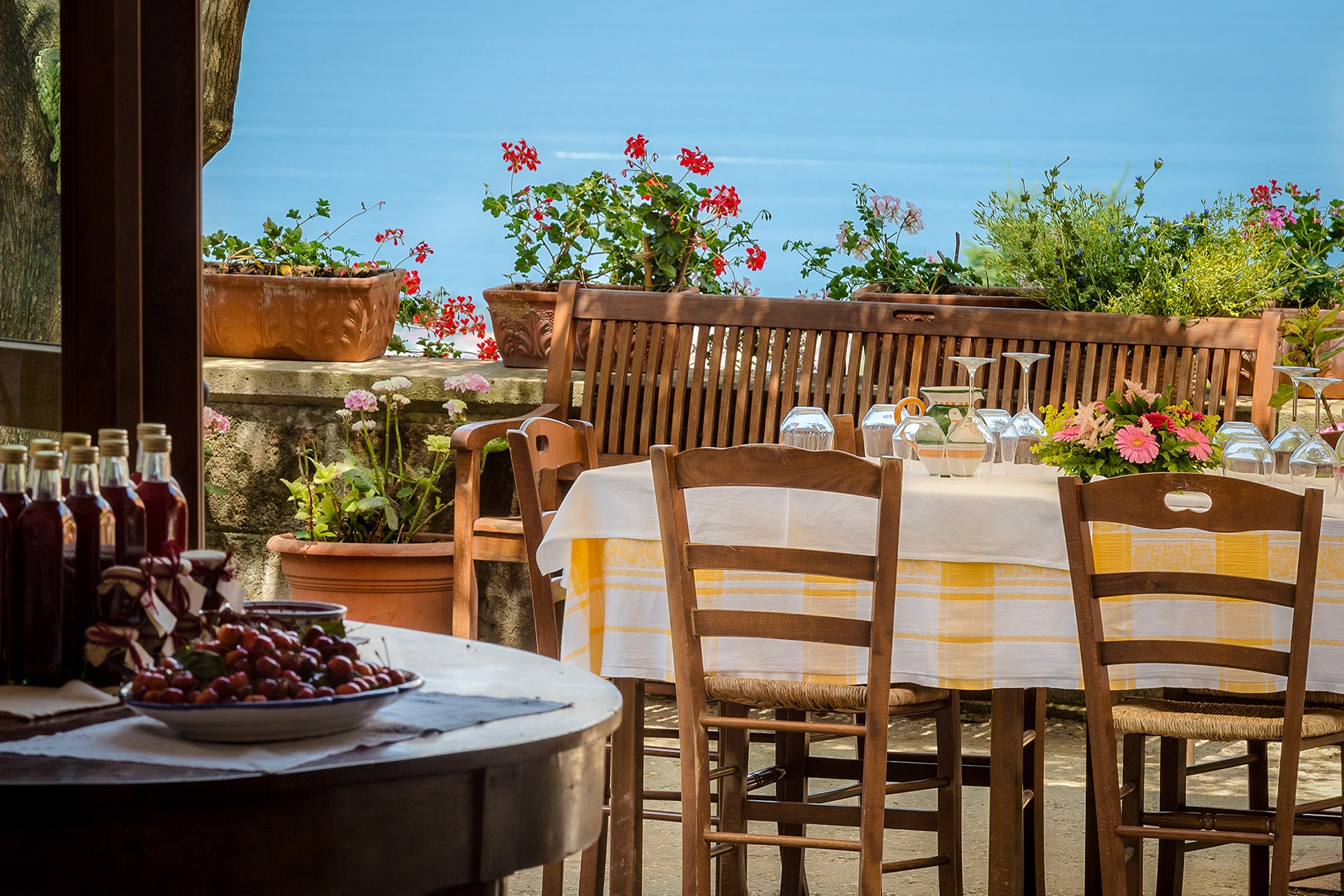 Ristorante Caminetto D' Farm Holiday Between Sorrento And Positano Antico Casale