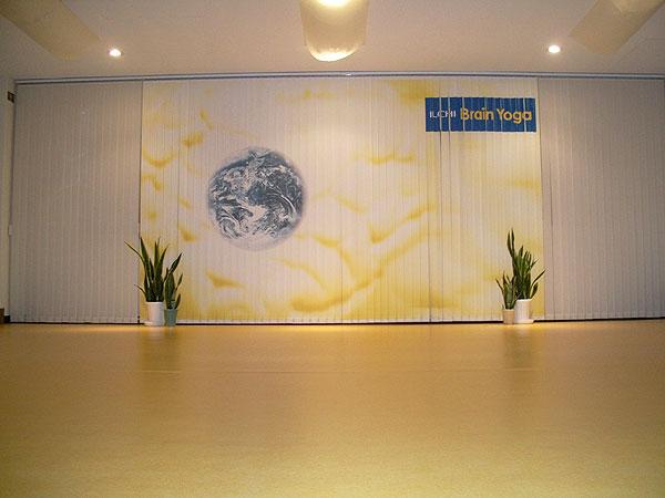 イルチブレインヨガ伏見スタジオのトレーニングルーム