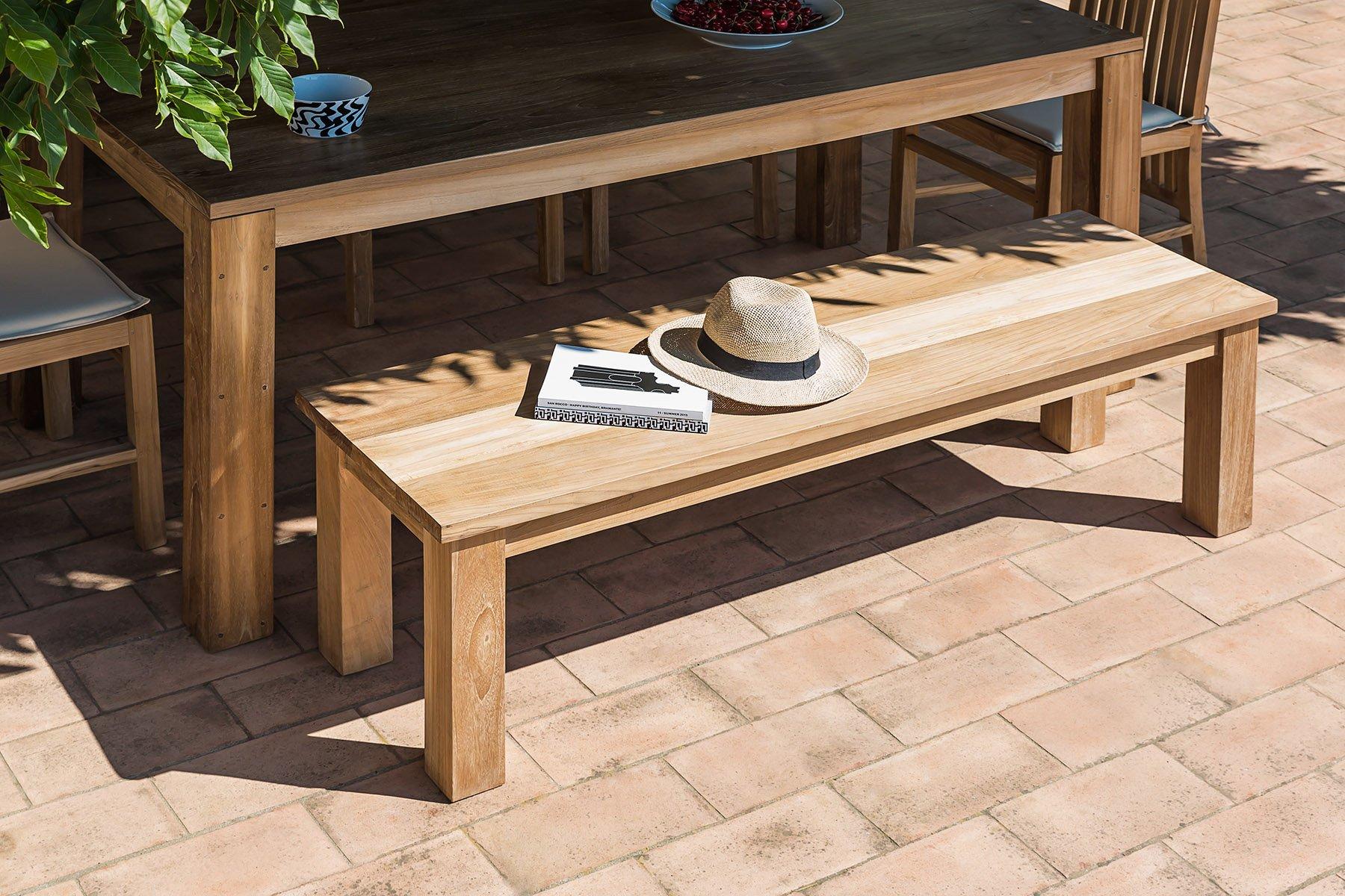 Panchine Da Giardino In Legno : Panca giardino legno panca da esterno a due posti in legno di