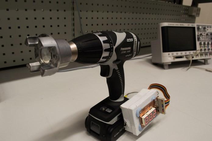 Braking torque measurement device