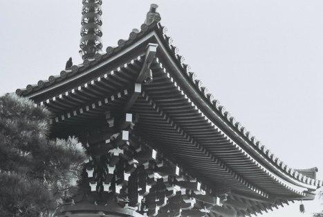 Buddhist temple at Mito, Ibaraki prefecture