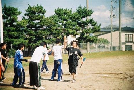 5E team at baseball competition