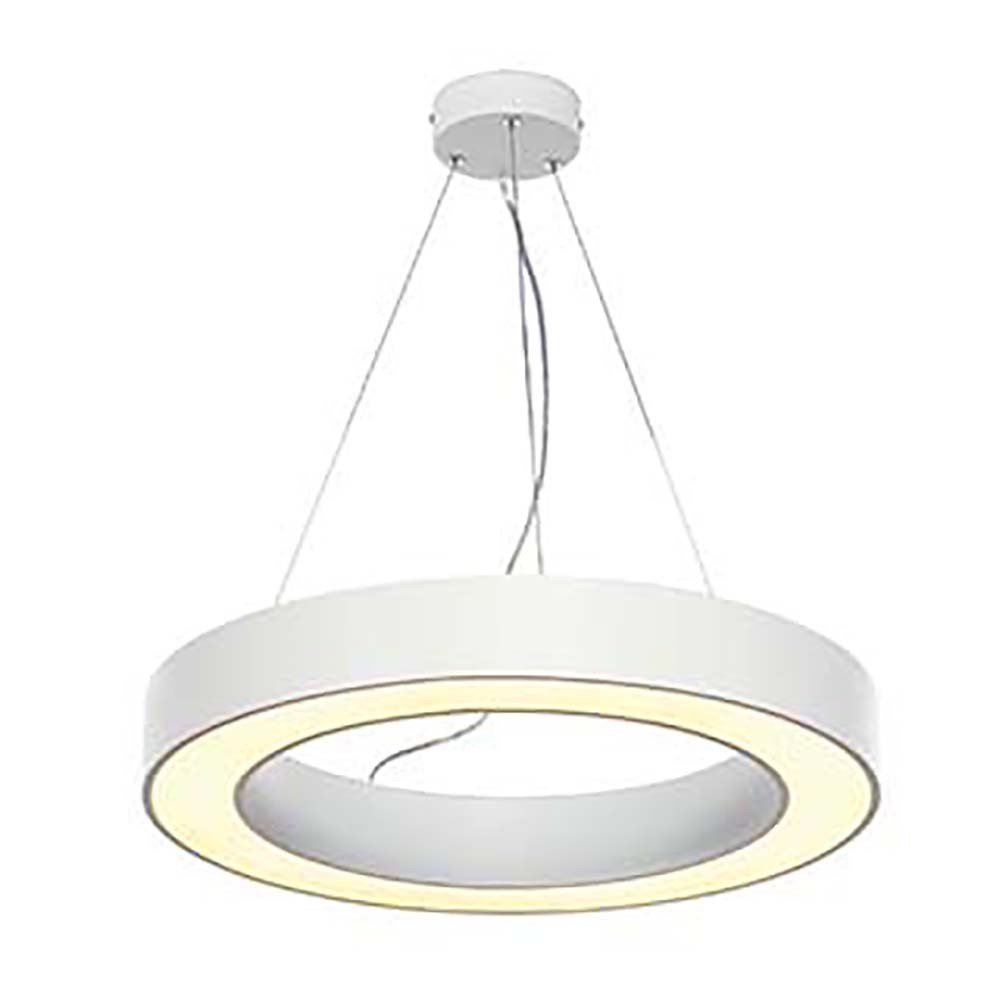 Suspension Blanche Medo 60 Ring Suspension Blanche Smd Led 3000k 36w