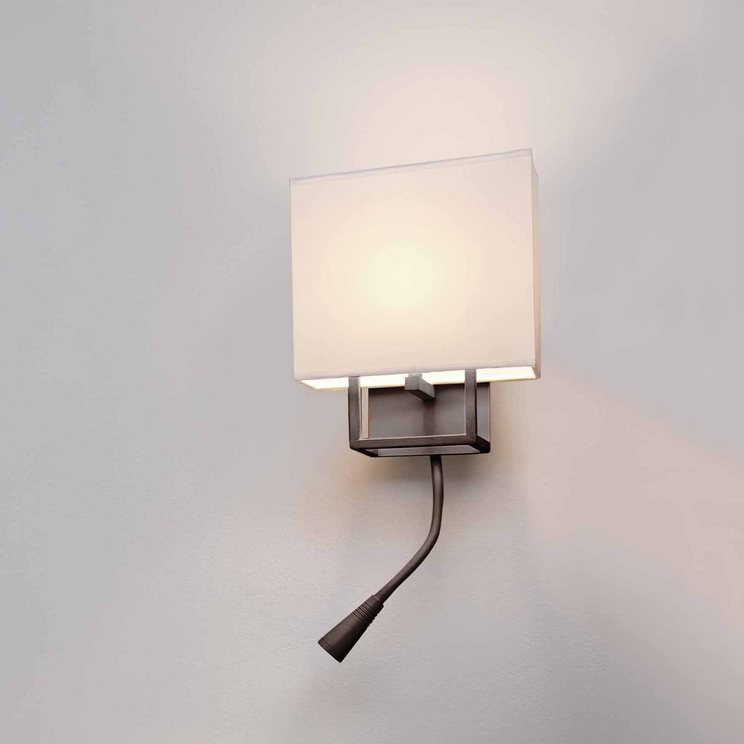 Applique Tete De Lit Salva Applique Marron Liseuse Led