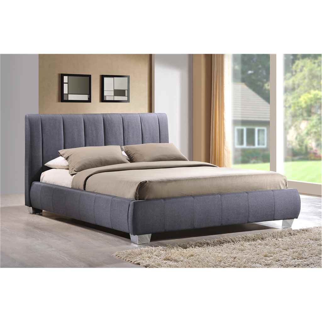 Fabric Bed Frames Grey Bed Frame Small Double 4ft Free Next Day Delivery