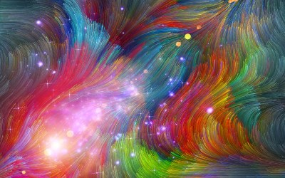 Daily Wallpaper: Hippie Galaxy   I Like To Waste My Time