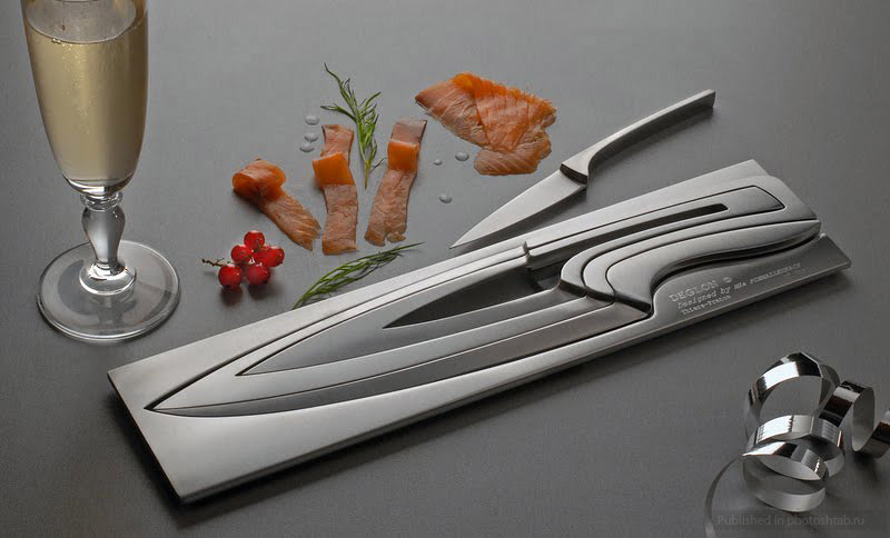 super exclusive knife set created mia schmallenbach knife awesome kitchen knives couchable