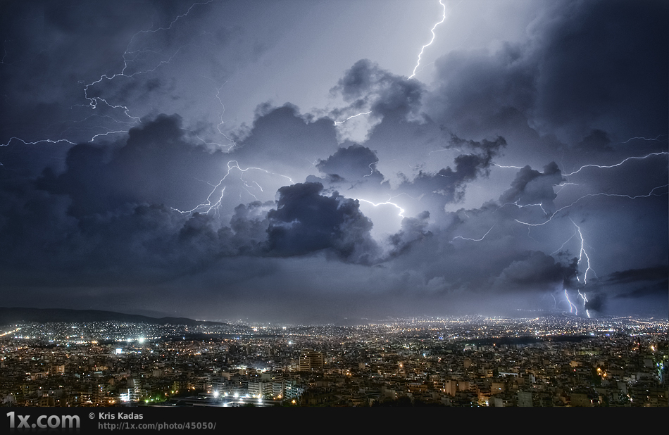 Amazing Sports Cars Wallpapers Lightning Over Athens I Like To Waste My Time