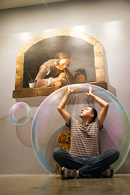 3d Mural Wallpaper India Cool Optical Illusion Gallery In South Korea 20 Pics I