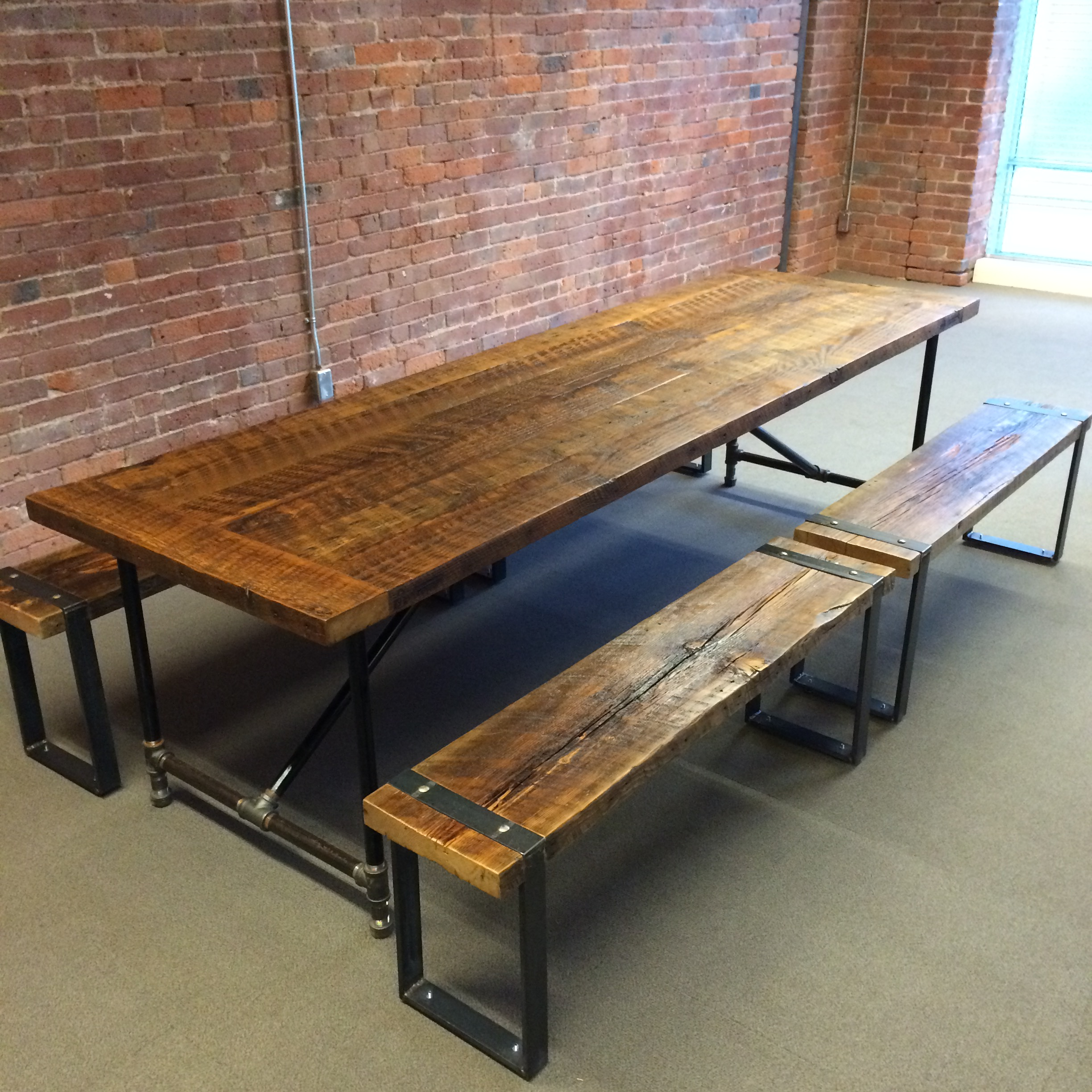 3 X 8 Table J Ands Reclaimed Custom Wood Furniture Check Out The