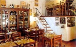 Osteria La Porta, Montecchiello in Tuscany, Italy