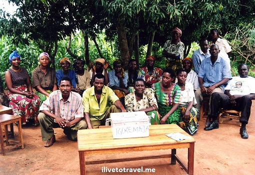 Village savings and loan group in Tanzania