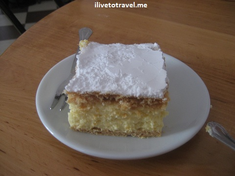 cream cake, Karol Wojtyla, John Paul II, Wadowice, Poland, photo, travel