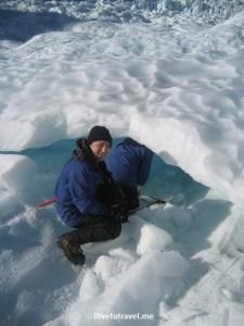 Franz Josef, glacier hike, New Zealand, blue ice, crampons, adventure, outdoors