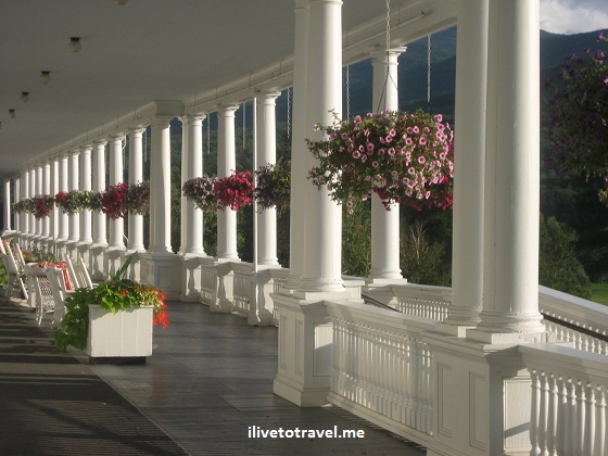 Mt. Washington Hotel in Bretton Woods, New Hampshire