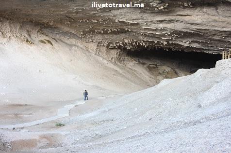 Cueva del Milodón near Torres del Paine in Chile's Patagonia, north of Puerto Natales
