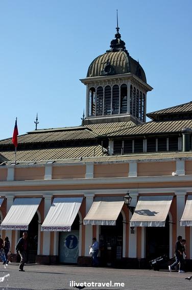 The Mercado Central in Santiago, Chile