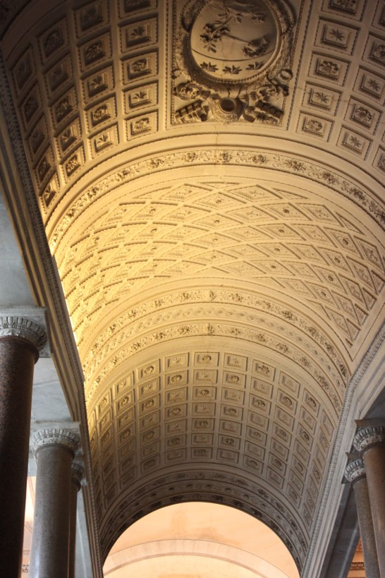 Vatican Museum ceilng, Rome, Italy