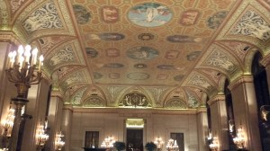 Chicago's Palmer House ceiling