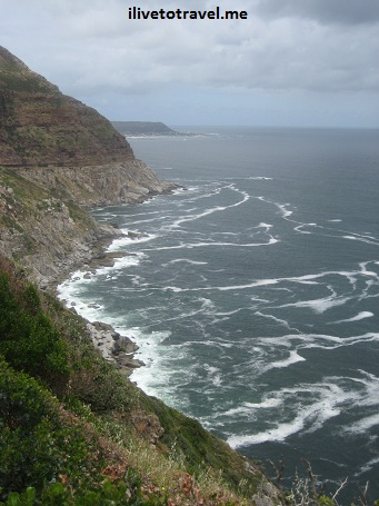 Coastline south of Cape Town (near Hout's Bay and Chapman's Peak)