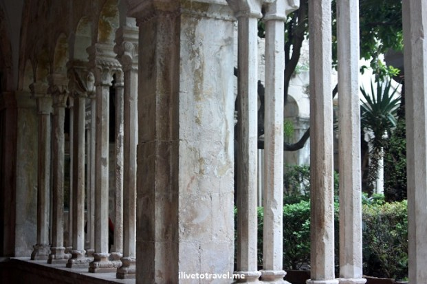 Cluster in Franciscan Monastery in Dubrovnik, Croatia