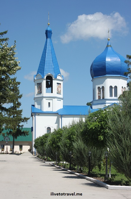 Frumoasa Monastery and Church in Moldova