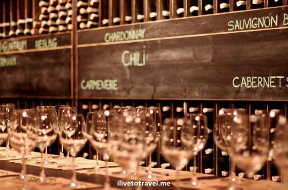Chateau Vartely wine tasting room