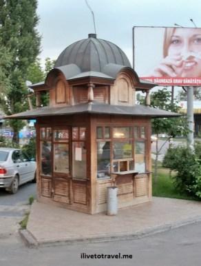 Booth in Chisinau, Moldova