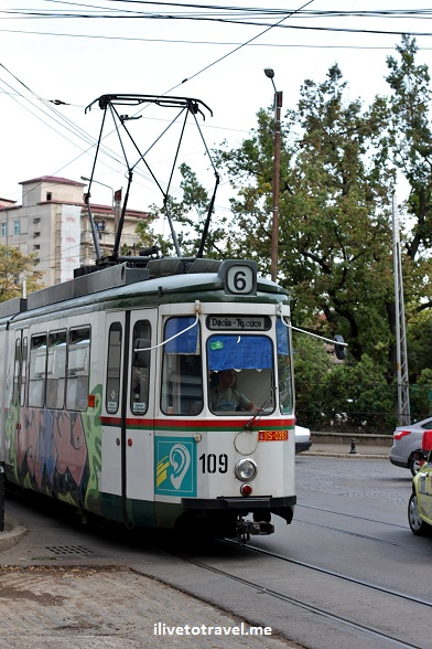 Tram in Iasi, Romania