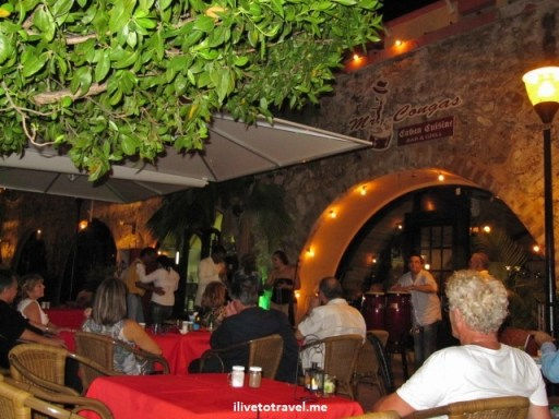 Live Cuban music at Mr. Congas in Willemstad, Curacao