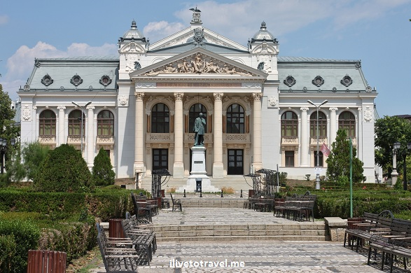 National Theater in Iasi, Romania