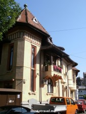 Home in the center of Bucharest, Romania - neat architecture