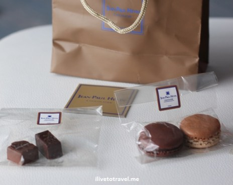 Chocolates and macarons from Paris' finest Jean-Paul Hevin