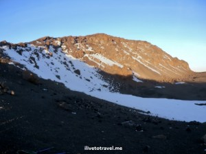 Uhuru Peak in Kilimanjaro