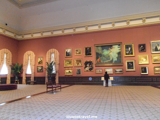 The Smithsonian's Renwick Gallery in Washington, D.C. for American art