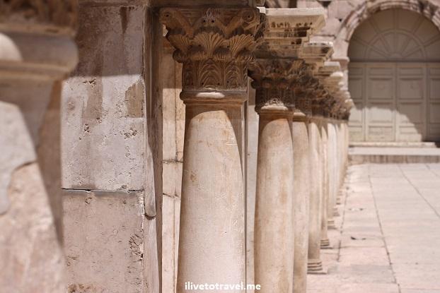 The Roman Theater in Amman, Jordan Canon EOS Rebel ruins