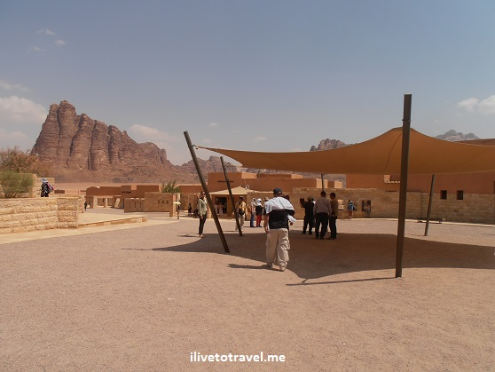 Wadi Rum visitor center Seven Pillars Wisdom