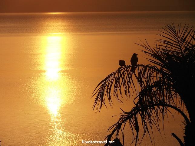 Sunset over the Dead Sea in Jordan, Canon EOS Rebel