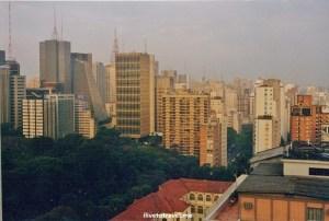 Ave. Paulista in Sao Paulo, Brazil architecture