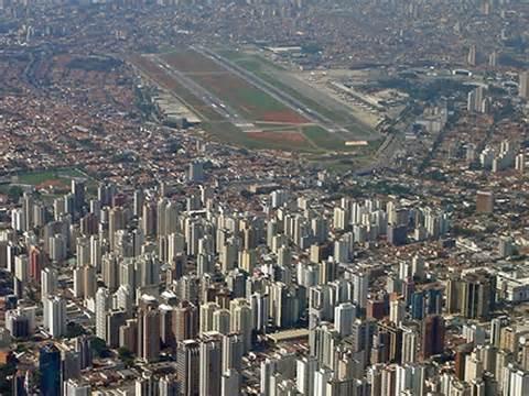 Congonhas airport in Sao Paulo, Brazil